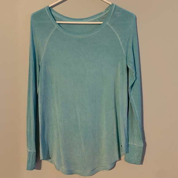 American Eagle Long Sleeve Top by American Eagle Outfitters